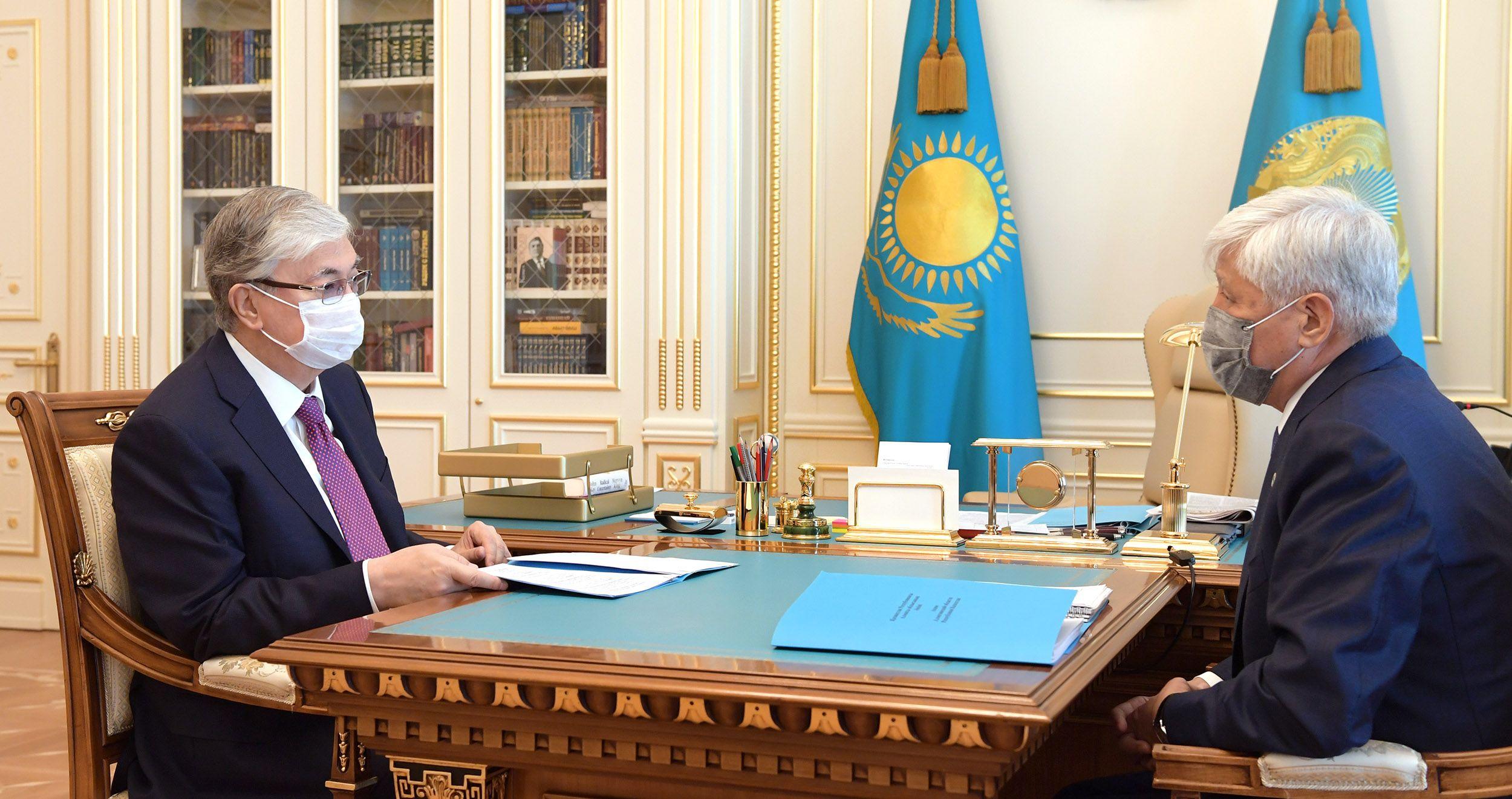 Президент встретился с акимами Алматы и Алматинской области- Kapital.kz