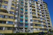 День госсимволов: алматинцы вывесили на балконах флаги Казахстана