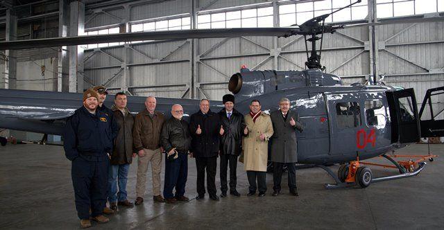Дипмиссия США передает Министерству обороныРК вертолет Huey- Kapital.kz