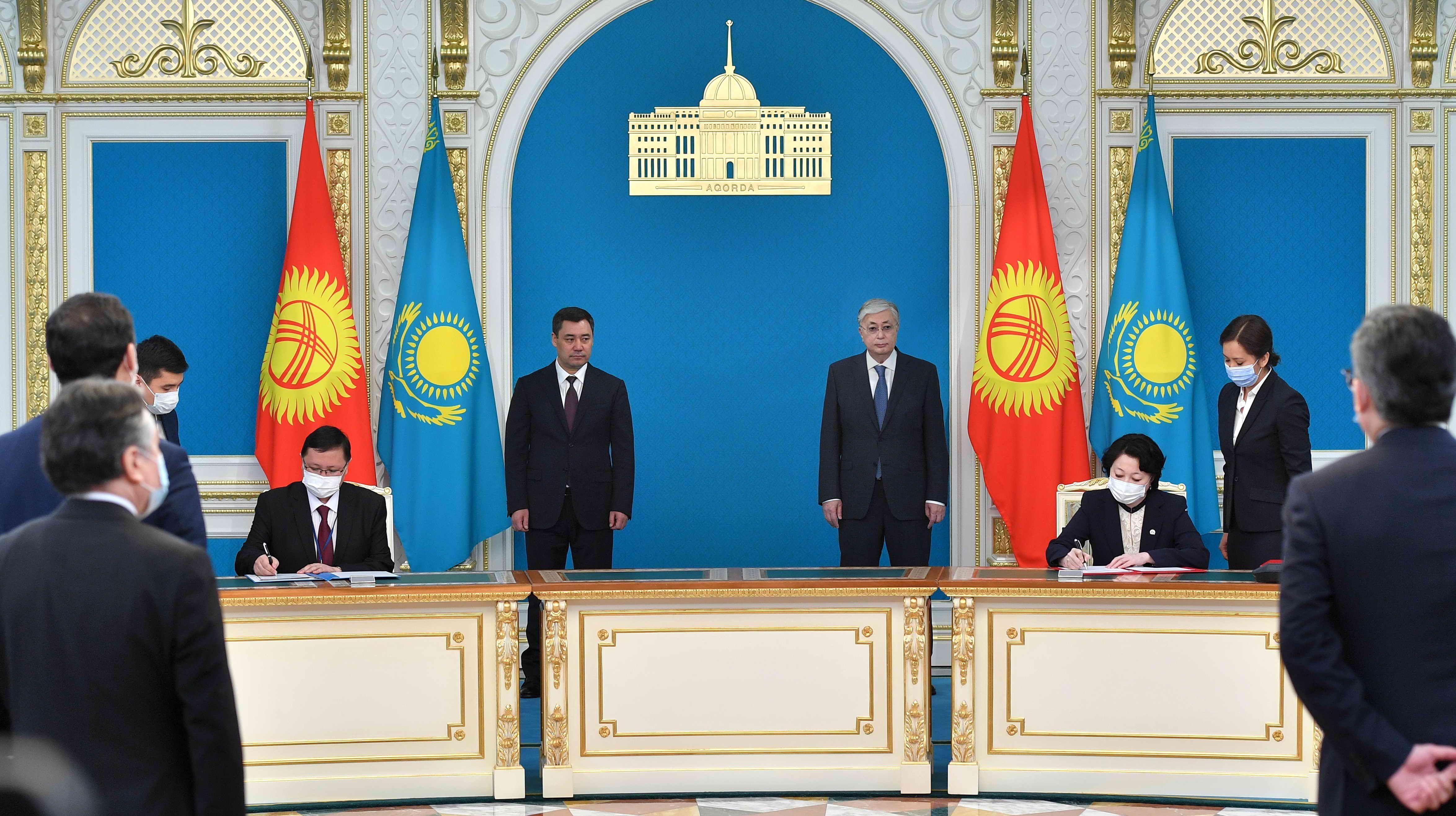 Казахстан и Кыргызстан договорились о расширении деловых связей  637533 - Kapital.kz