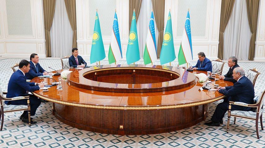 Аскар Мамин провел переговоры с Президентом Узбекистана 102573 - Kapital.kz