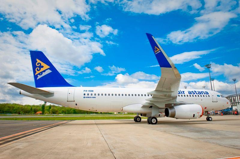 Авиапарк Эйр Астаны пополнился собственным Airbus A320- Kapital.kz