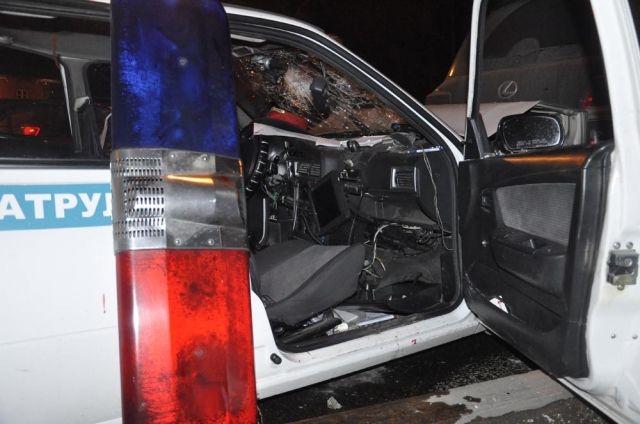 Двое полицейских пострадали в ДТП в Алматы- Kapital.kz