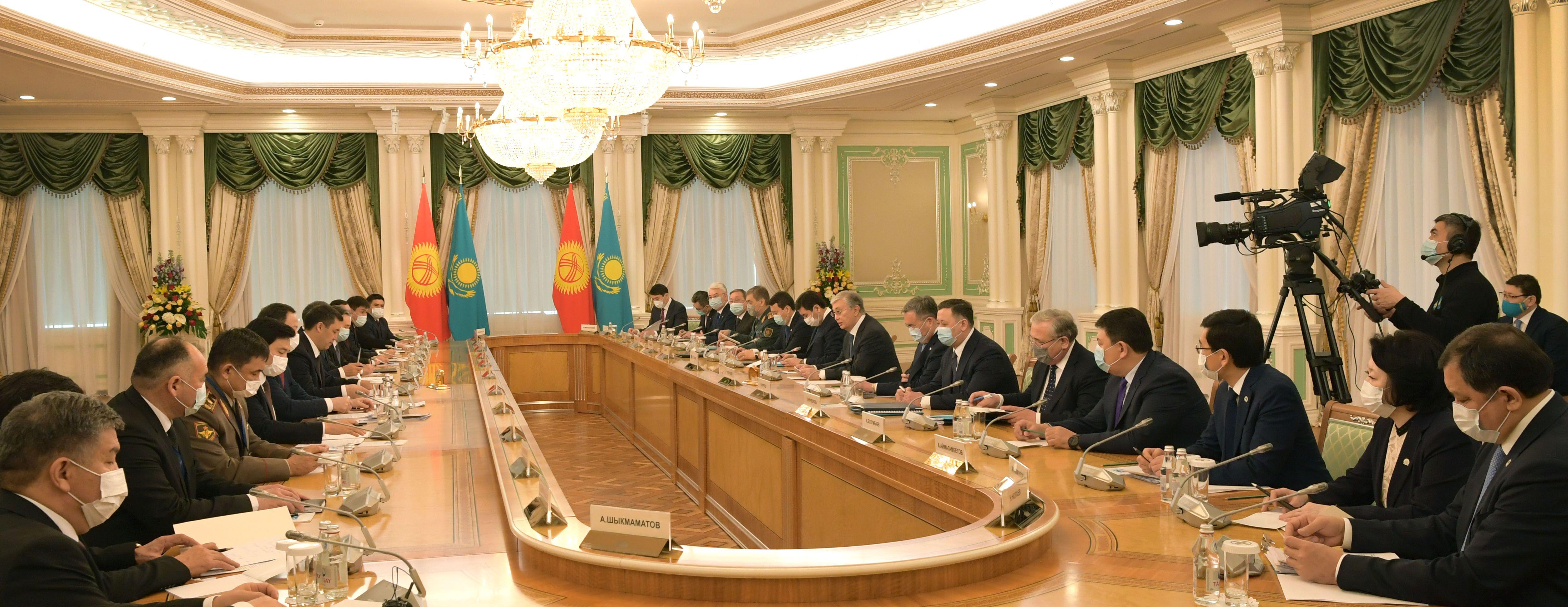 Казахстан и Кыргызстан договорились о расширении деловых связей - Kapital.kz