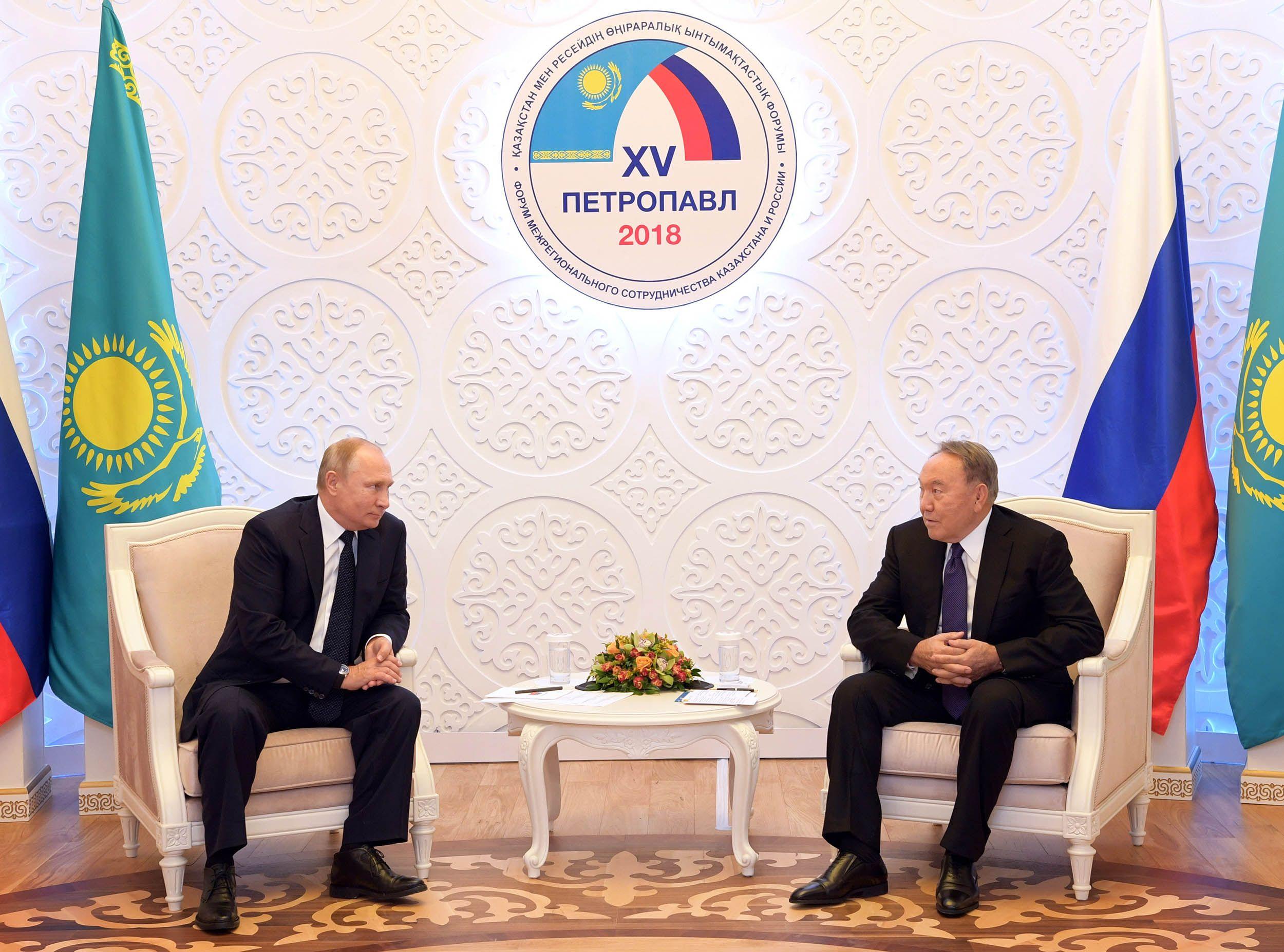 Президенты Казахстана иРоссии провели встречу- Kapital.kz