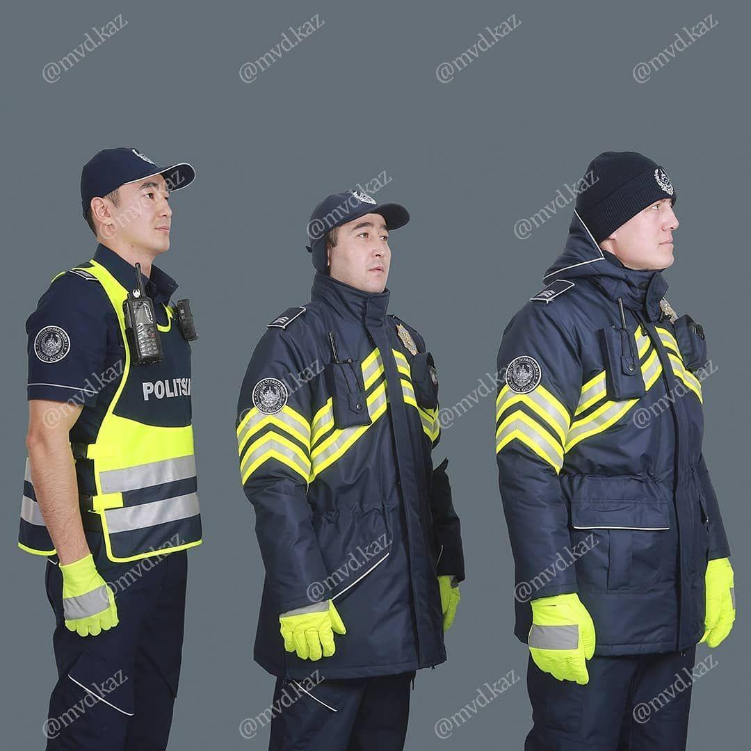 МВД показало новую форму для полицейских- Kapital.kz