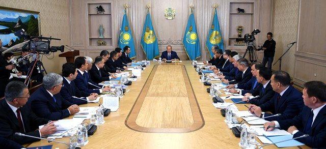 Нурсултан Назарбаев заслушал отчеты акимов иминистров- Kapital.kz