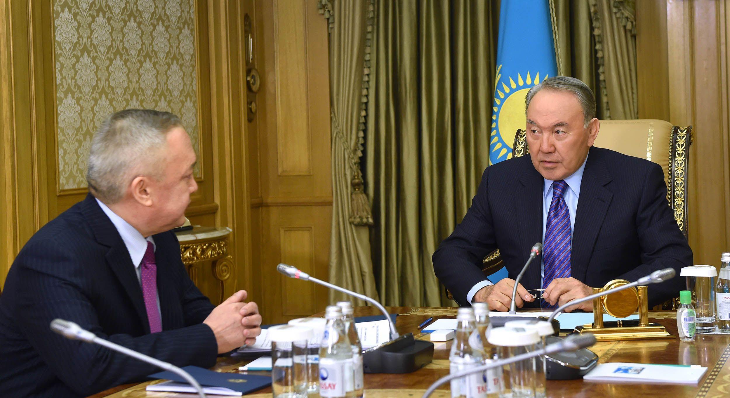 Нурсултан Назарбаев заслушал отчет главы Счетного комитета- Kapital.kz
