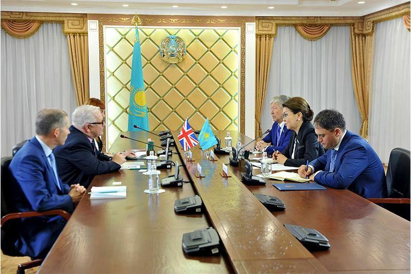 Дарига Назарбаева приняла посла Великобритании- Kapital.kz
