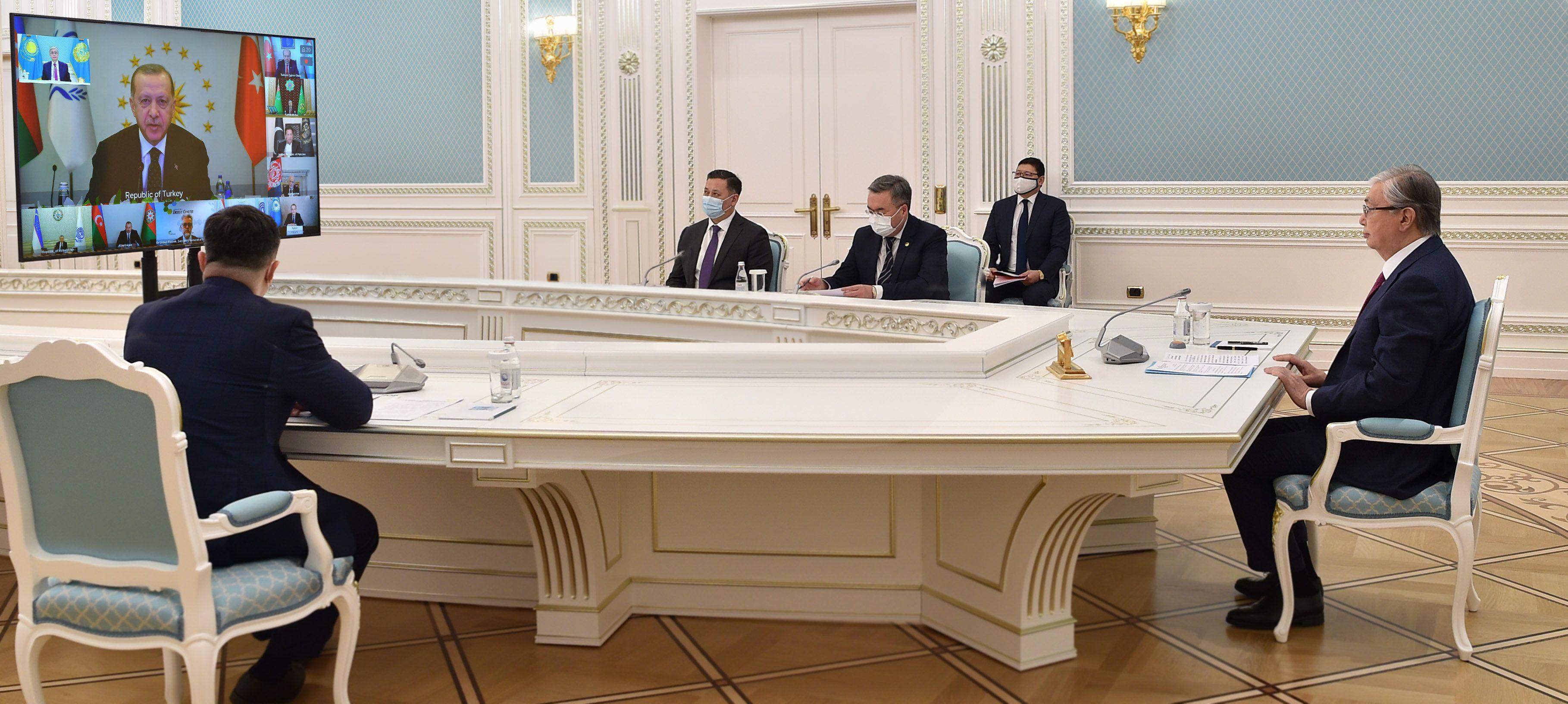 Президент РК подчеркнул важность сотрудничества ОЭС и СВМДА- Kapital.kz
