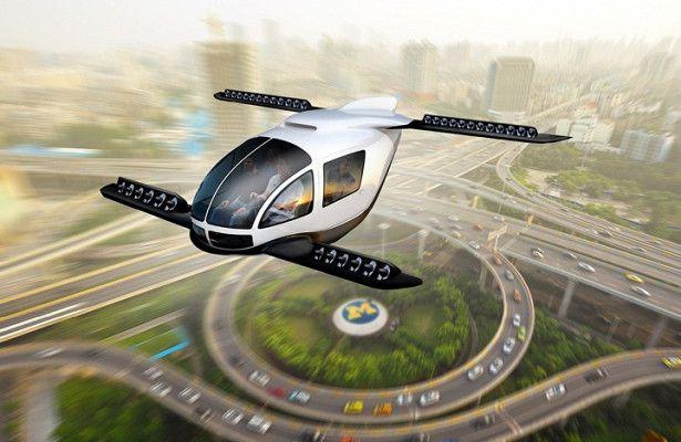 Hyundai займется созданием летающих такси- Kapital.kz