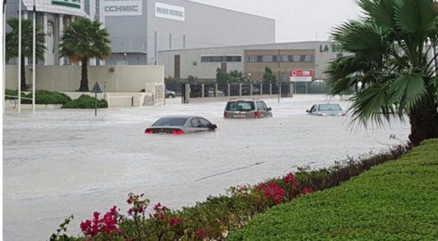 Наводнение в дубай дубай сити центр