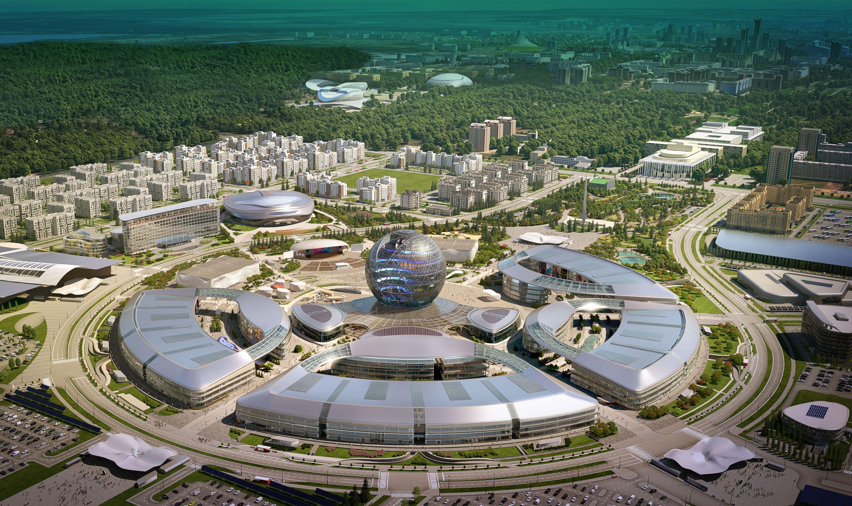 Президент осмотрел выставочный комплекс Астана ЭКСПО-2017- Kapital.kz