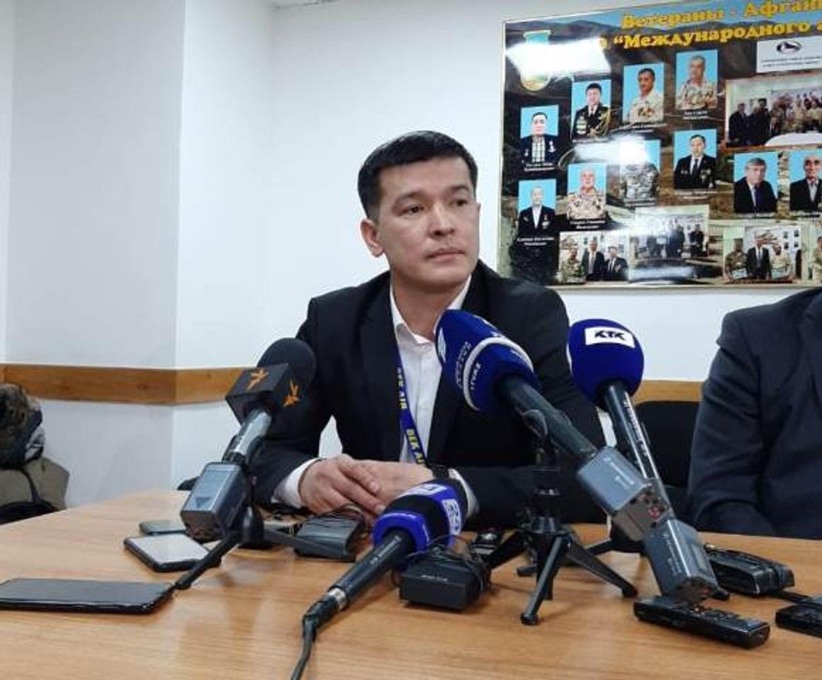 На фото: Казбек Бердижапаров, представитель Bek Air <br>