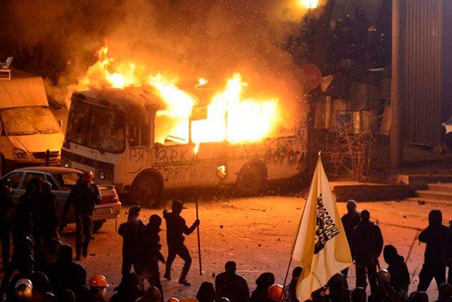 Ущерб от беспорядков в Киеве составил $1,75 млн- Kapital.kz