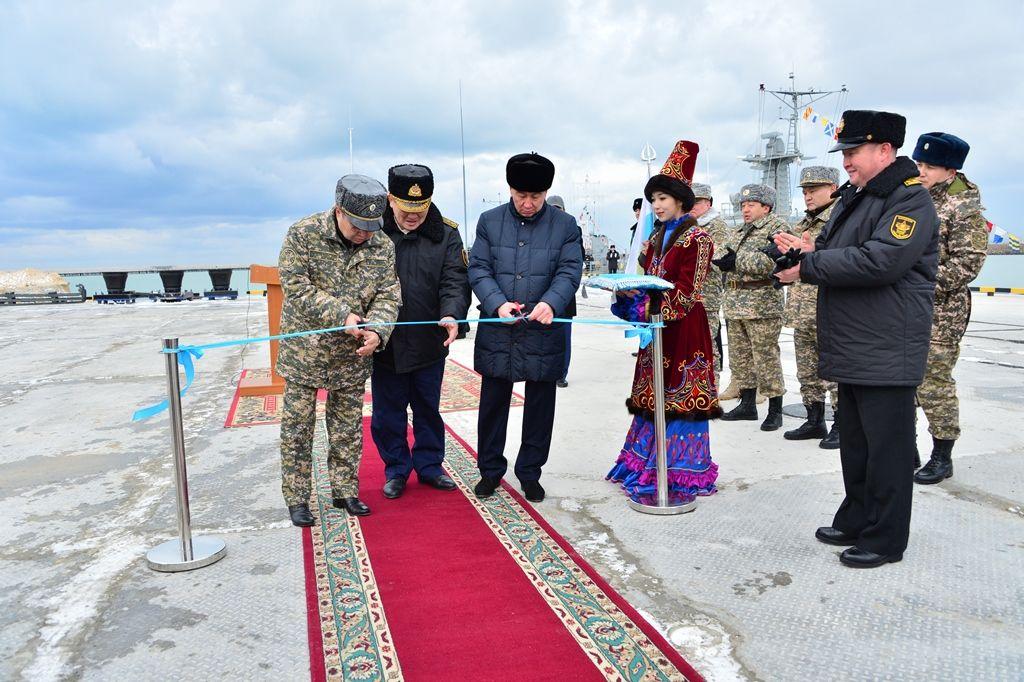 Министр обороны открыл первый военный пирс вАктау- Kapital.kz