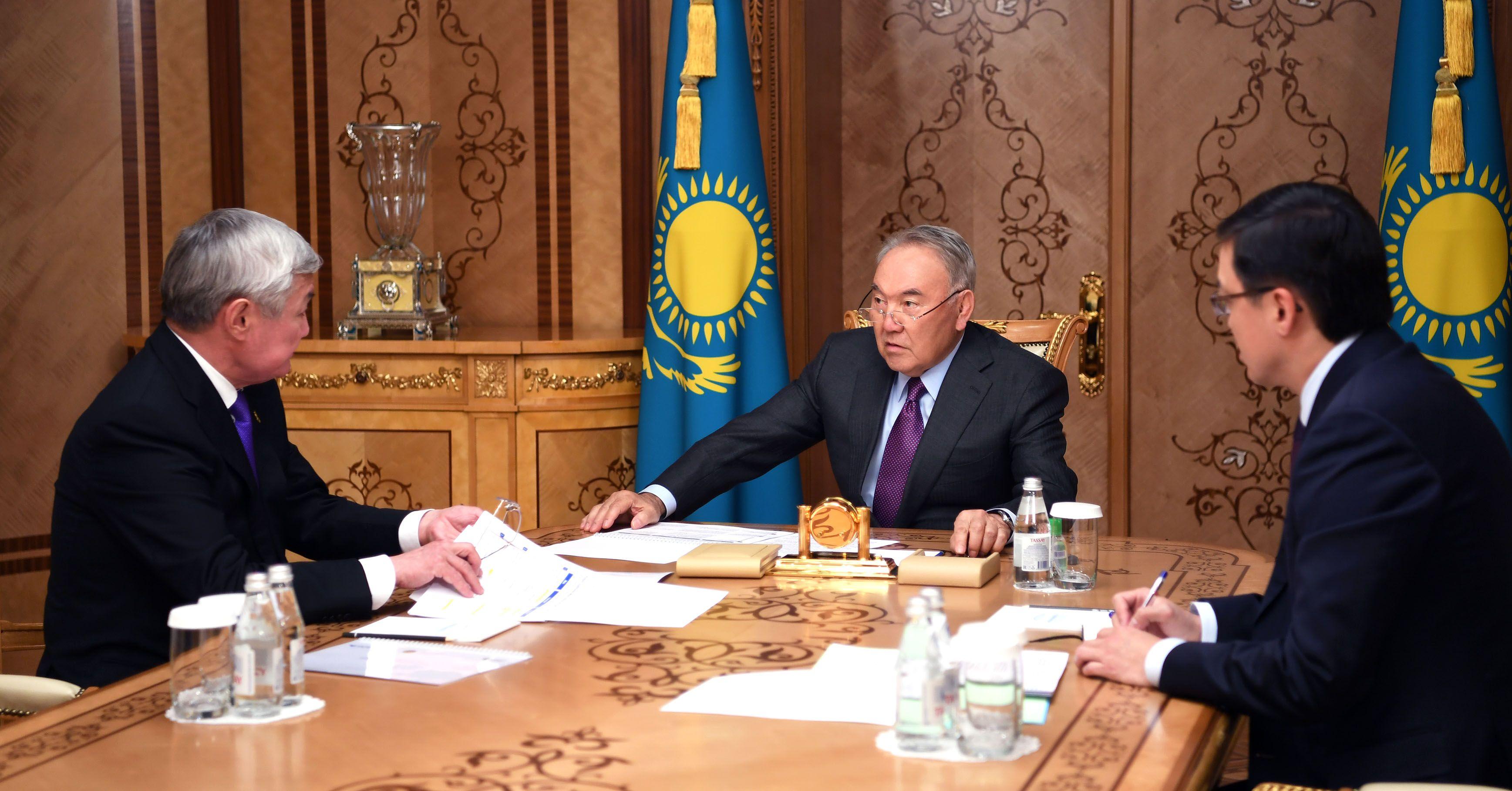 Нурсултан Назарбаев принял Бердибека Сапарбаева- Kapital.kz