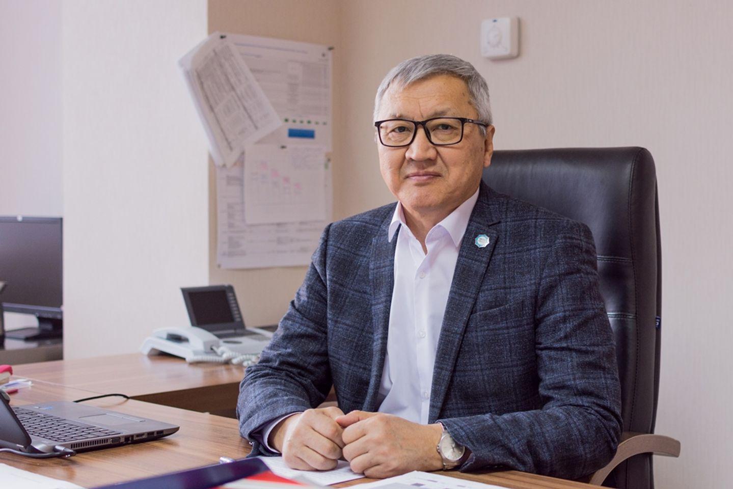 На фото: главный директор по трансформации бизнеса Центра по трансформации бизнеса АО «KEGOC» Хабибулла Казиев