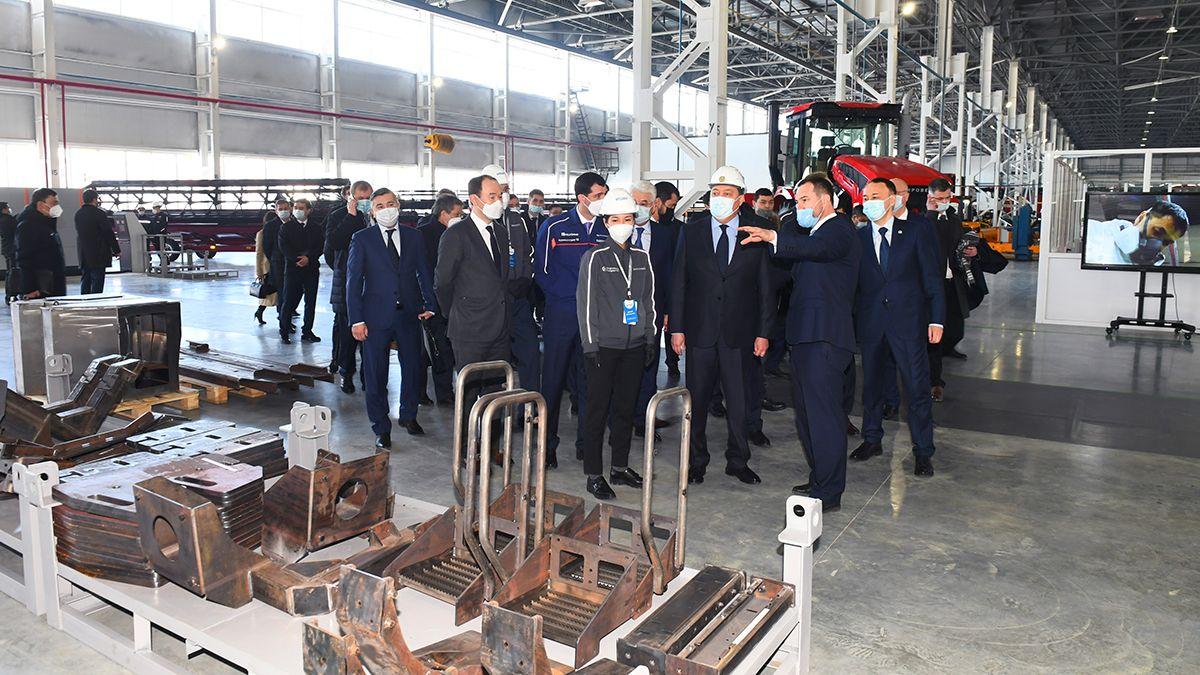 Аскар Мамин посетил предприятия Костаная  669267 - Kapital.kz