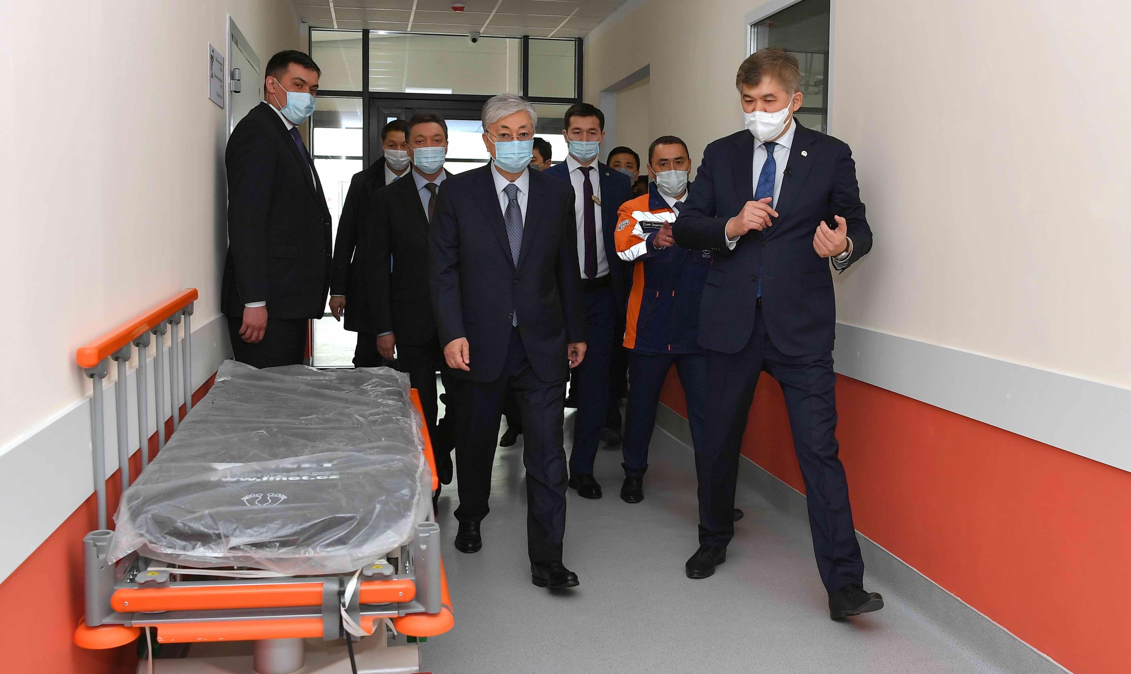 Модульная больница в Алматы построена за 18 дней 287794 - Kapital.kz