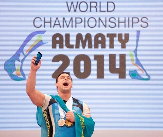 Ильин стал лучшим тяжелоатлетом мира в 2014 году- Kapital.kz