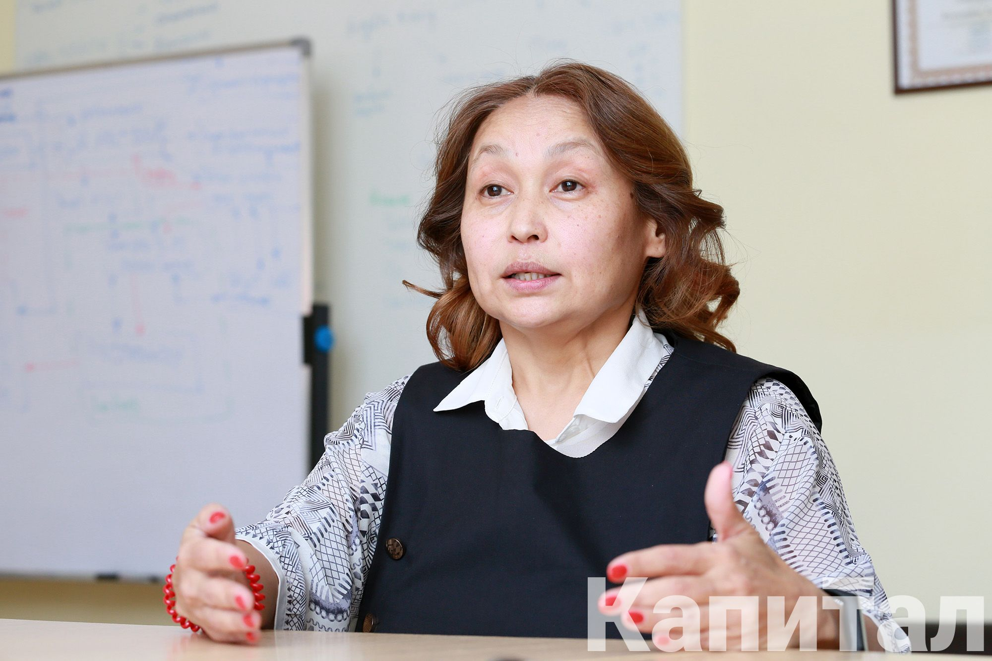Галия Ахметжанова, основатель проекта - Kapital.kz