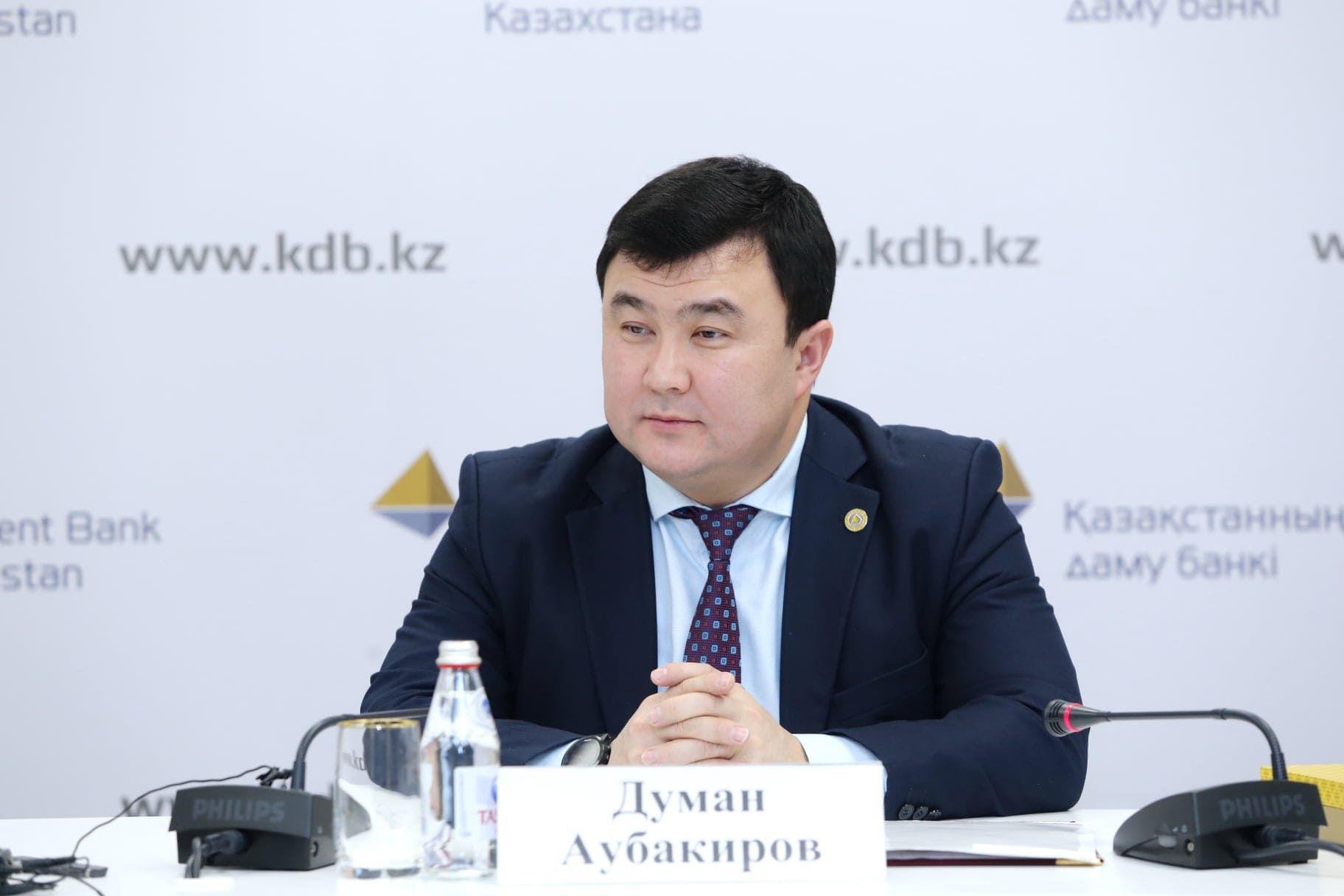 На фото: председатель правления БРК Думан Аубакиров - Kapital.kz