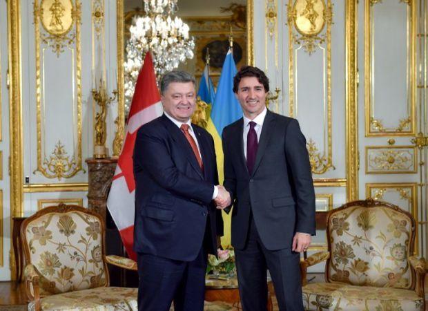 Президент Украины и премьер Канады проводят переговоры- Kapital.kz