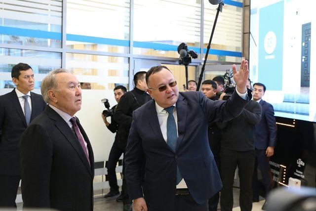 Нурсултан Назарбаев посетил ситуационный центр Smart Aqkol- Kapital.kz