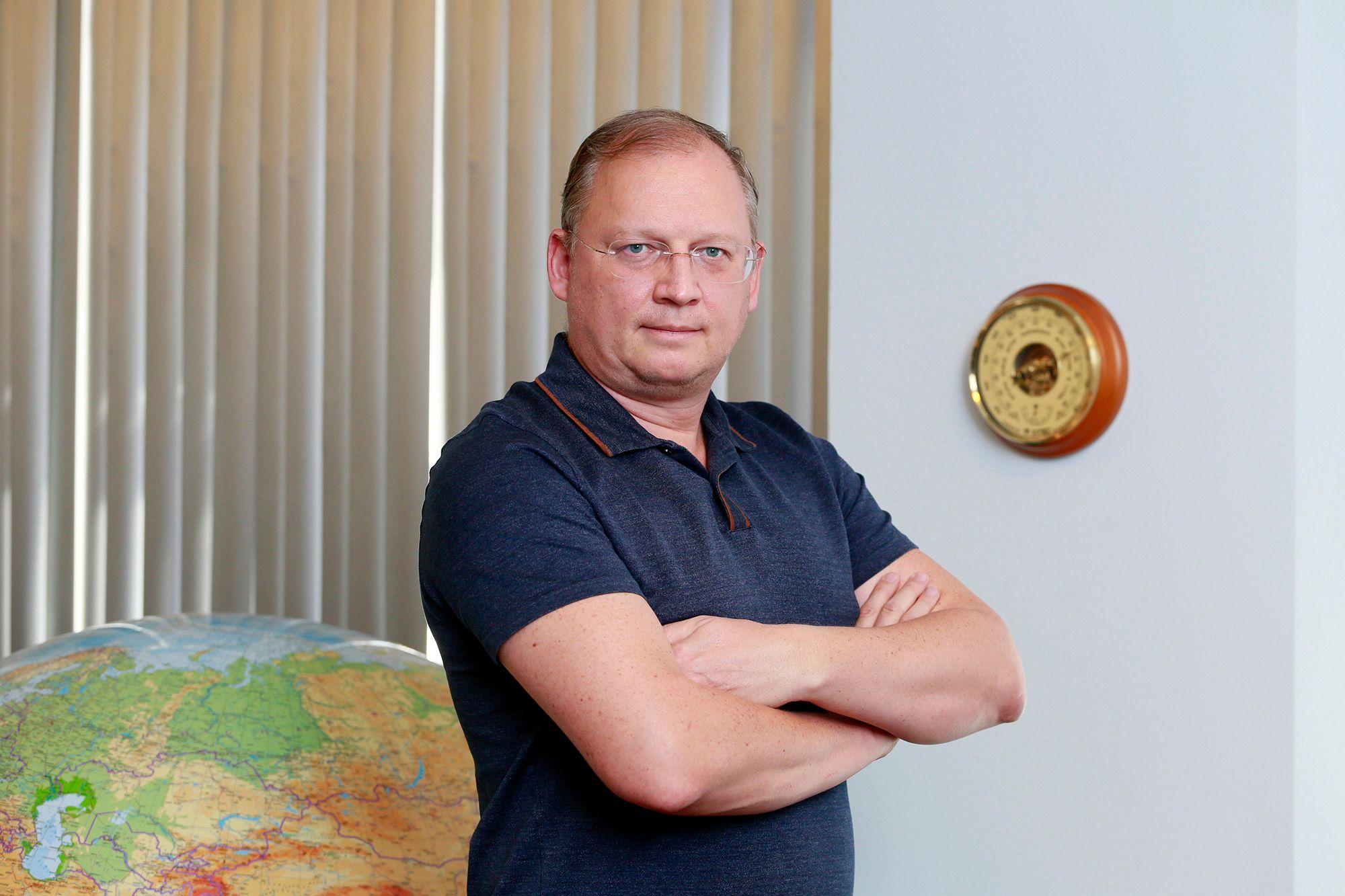 Сергей Швалов,президент LogyCom  - Kapital.kz