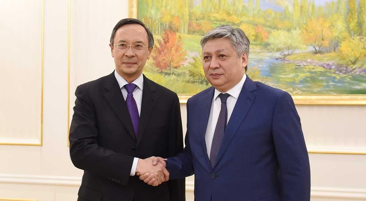 Очем договорились министры иностранных дел Казахстана иКыргызстана- Kapital.kz
