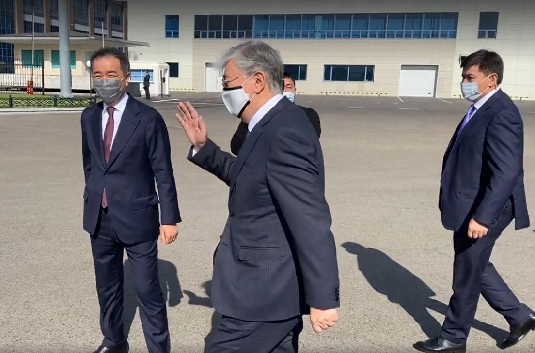 Президент прибыл в Алматы- Kapital.kz