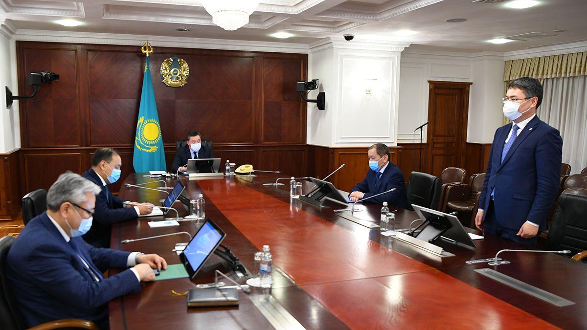 Аскар Мамин представил новых министров 568881 - Kapital.kz