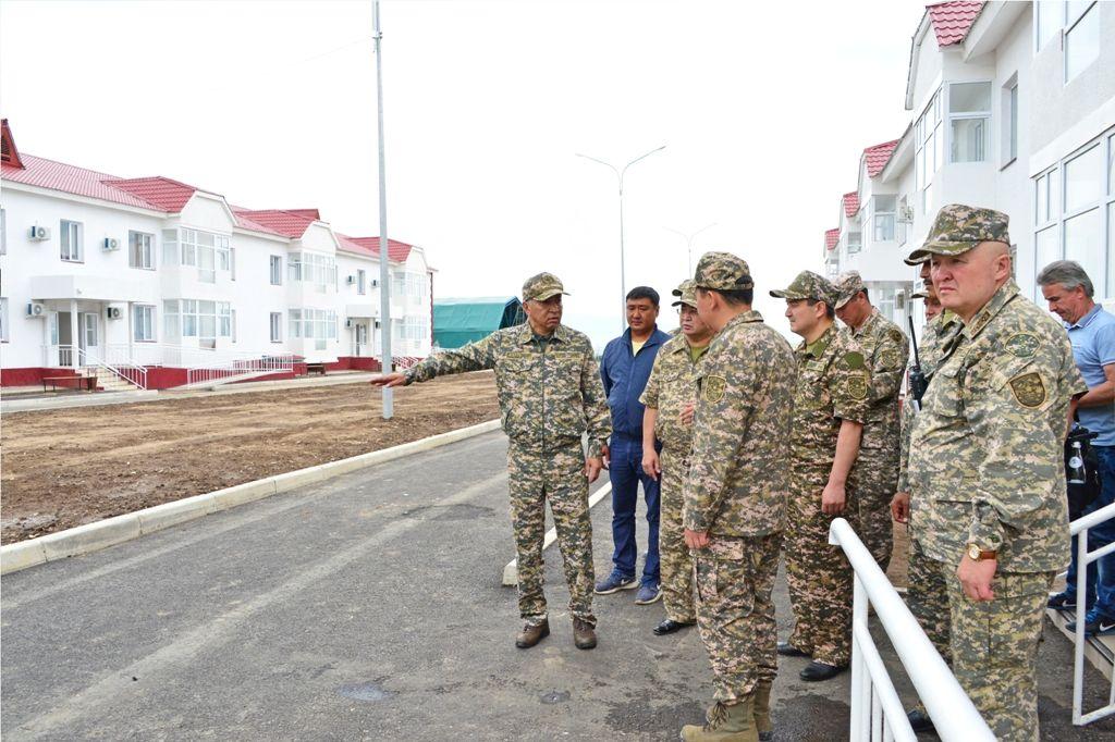 Министр обороны перед армейскими играми проверил подготовку служб- Kapital.kz