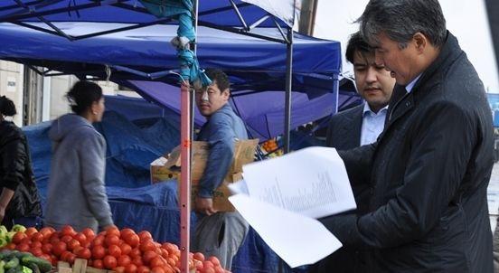Куандык Бишимбаев и Асет Исекешев проверили рынки столицы- Kapital.kz