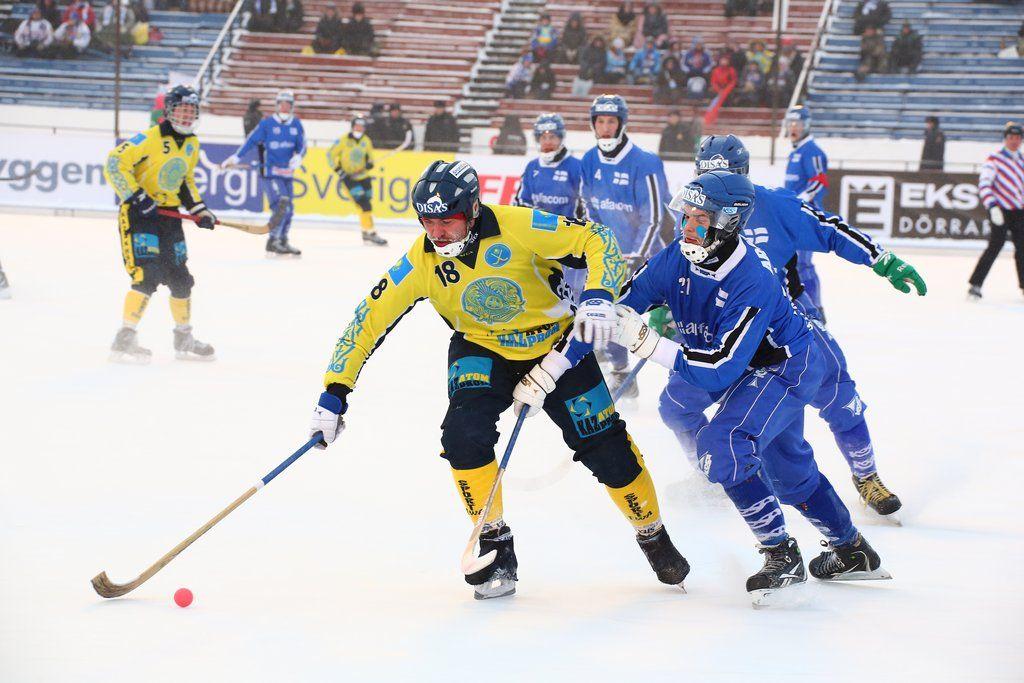 Казахстан сыграл вничью с Финляндией на ЧМ по бенди- Kapital.kz