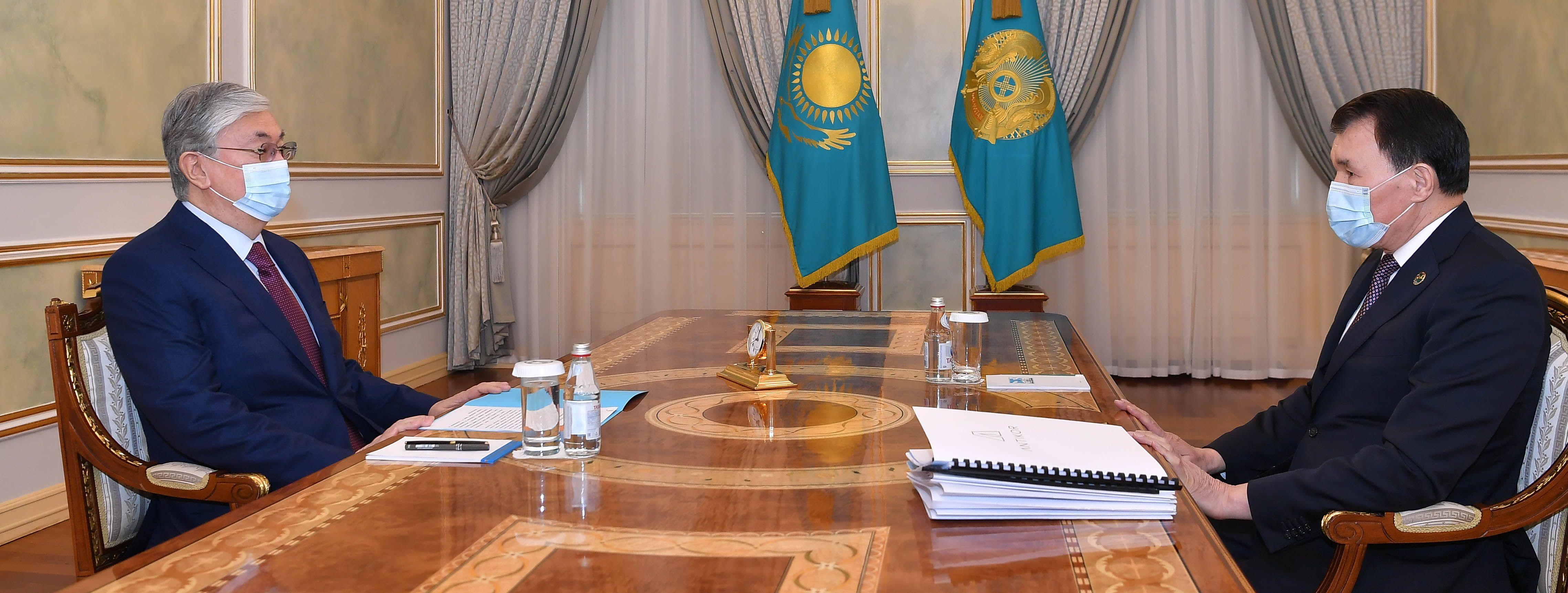 Алик Шпекбаев доложил президенту о результатах работы за год - Kapital.kz