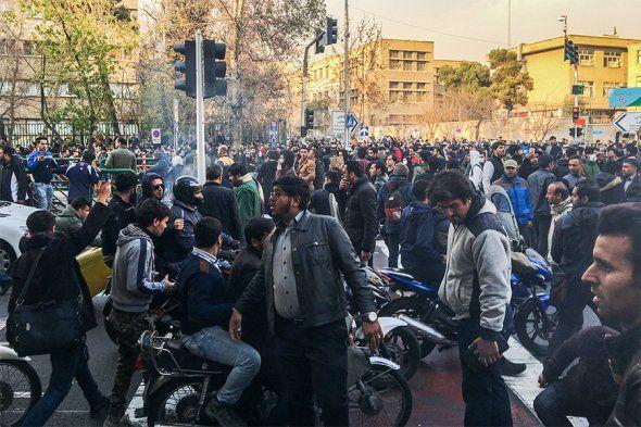 Президент Ирана высказался опроходящей акции протеста- Kapital.kz