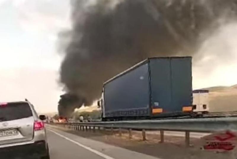 В Туркестанской области грузовик столкнулся с двумя автомобилями- Kapital.kz