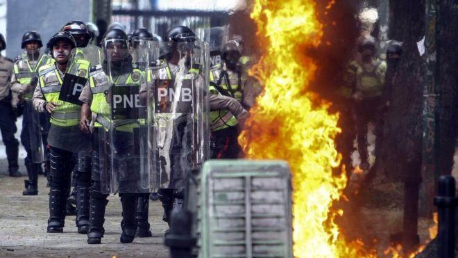Вовремя беспорядков вВенесуэле погибли 11человек- Kapital.kz