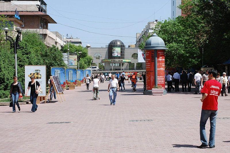 Движение на улицах Алматы перекрыто не будет- Kapital.kz