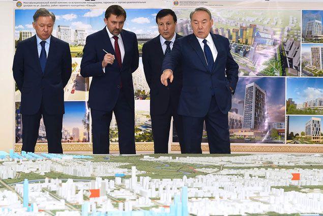 Нурсултану Назарбаеву рассказали о застройке и развитии Астаны- Kapital.kz