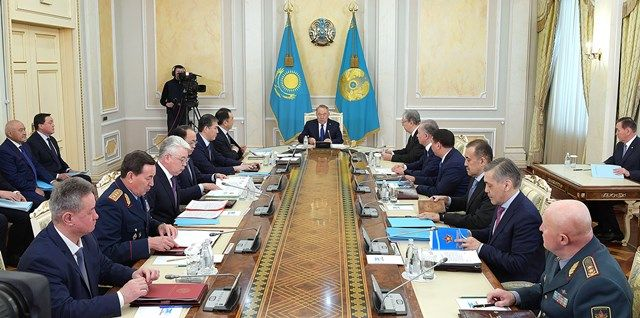 Заседание Совбеза провел Нурсултан Назарбаев- Kapital.kz