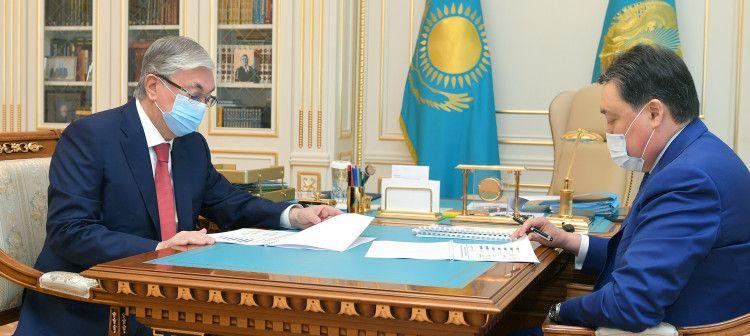 Аскар Мамин доложил о развитии экономики за пять месяцев- Kapital.kz