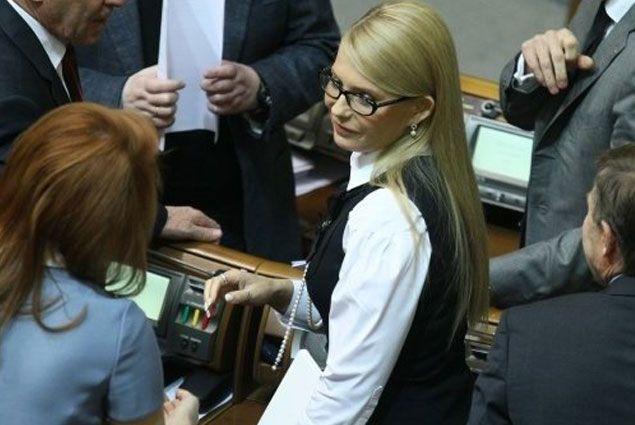 Юлия Тимошенко призвала Раду уволить Арсения Яценюка - Kapital.kz