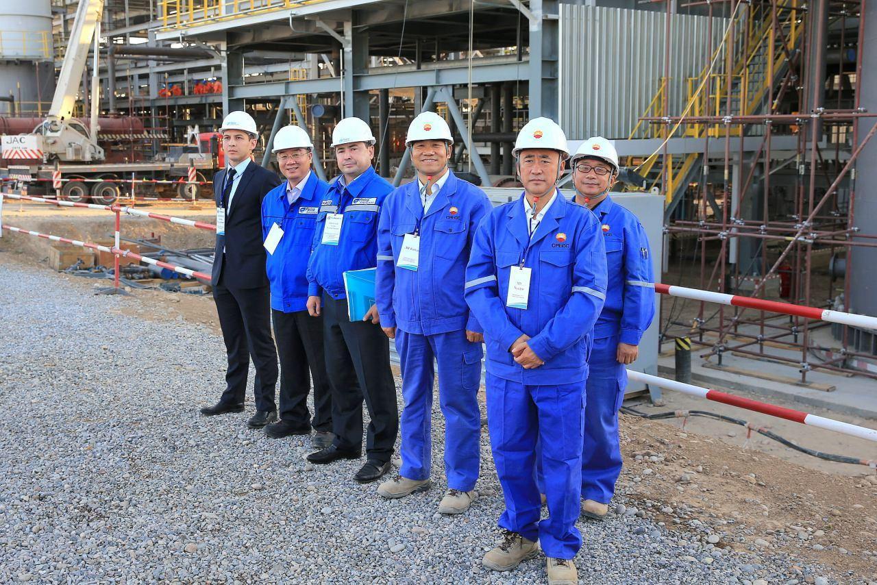 Проект «Модернизация и реконструкция Шымкентского нефтеперерабатывающего завода» начался в 2011 году, завершить все работы планируется в конце 2017 года.