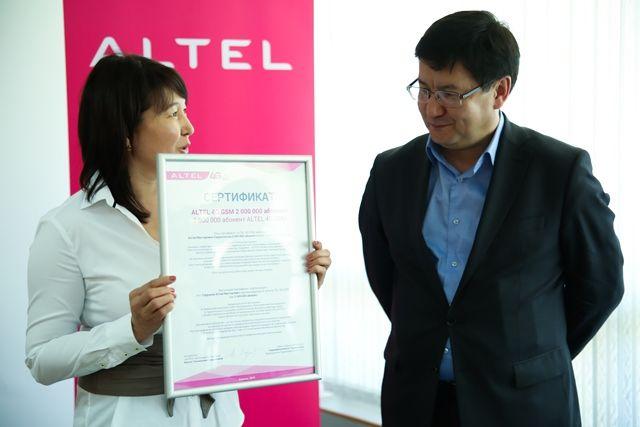 Алтел зарегистрировал двухмиллионного абонента- Kapital.kz