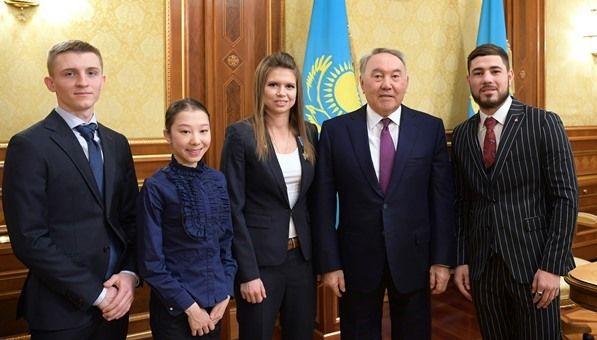 Президент встретился с победителями международных соревнований- Kapital.kz