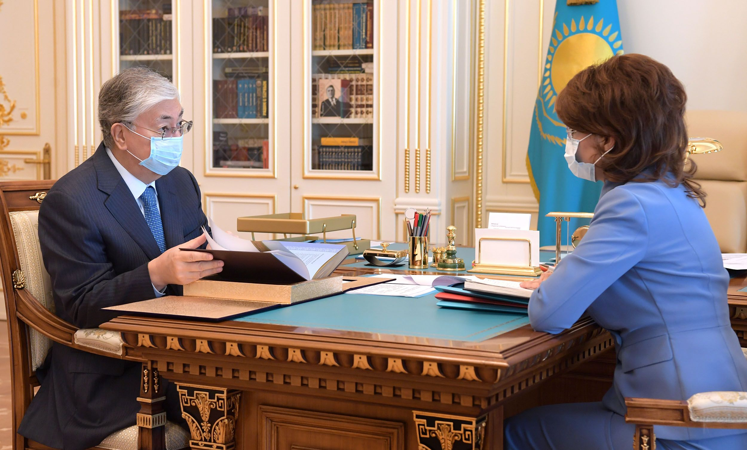 Касым-Жомарт Токаев дал поручения Аиде Балаевой- Kapital.kz