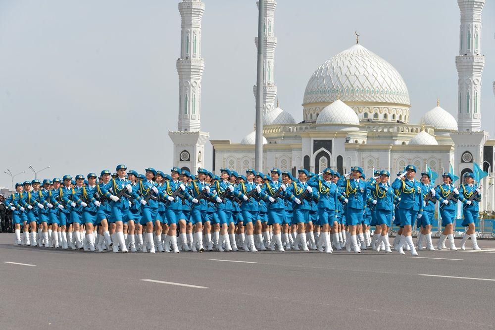 Самый масштабный военный парад вистории страны- Kapital.kz